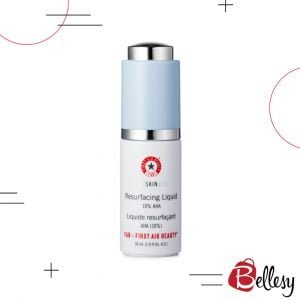 FIRST AID BEAUTY, Skin Lab AHA Resurfacing Liquid 10% AHA, skin serum, face serum, healthy skin, bellesy