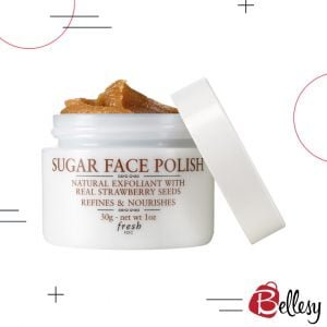 FRESH Sugar Face Polish, facial scrubs, clog pores, skin exfoliate